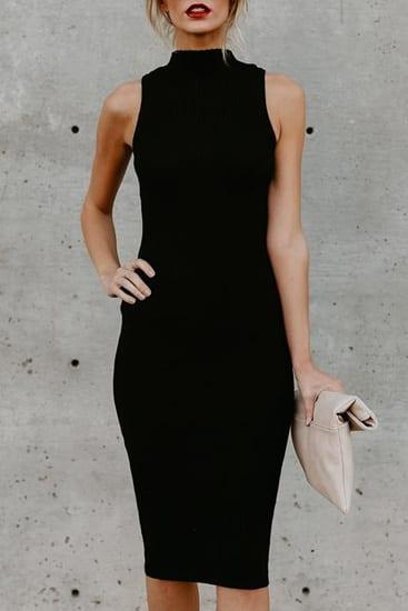 Poppoly Midnight In Paris Black Dress Best Fashion Hq